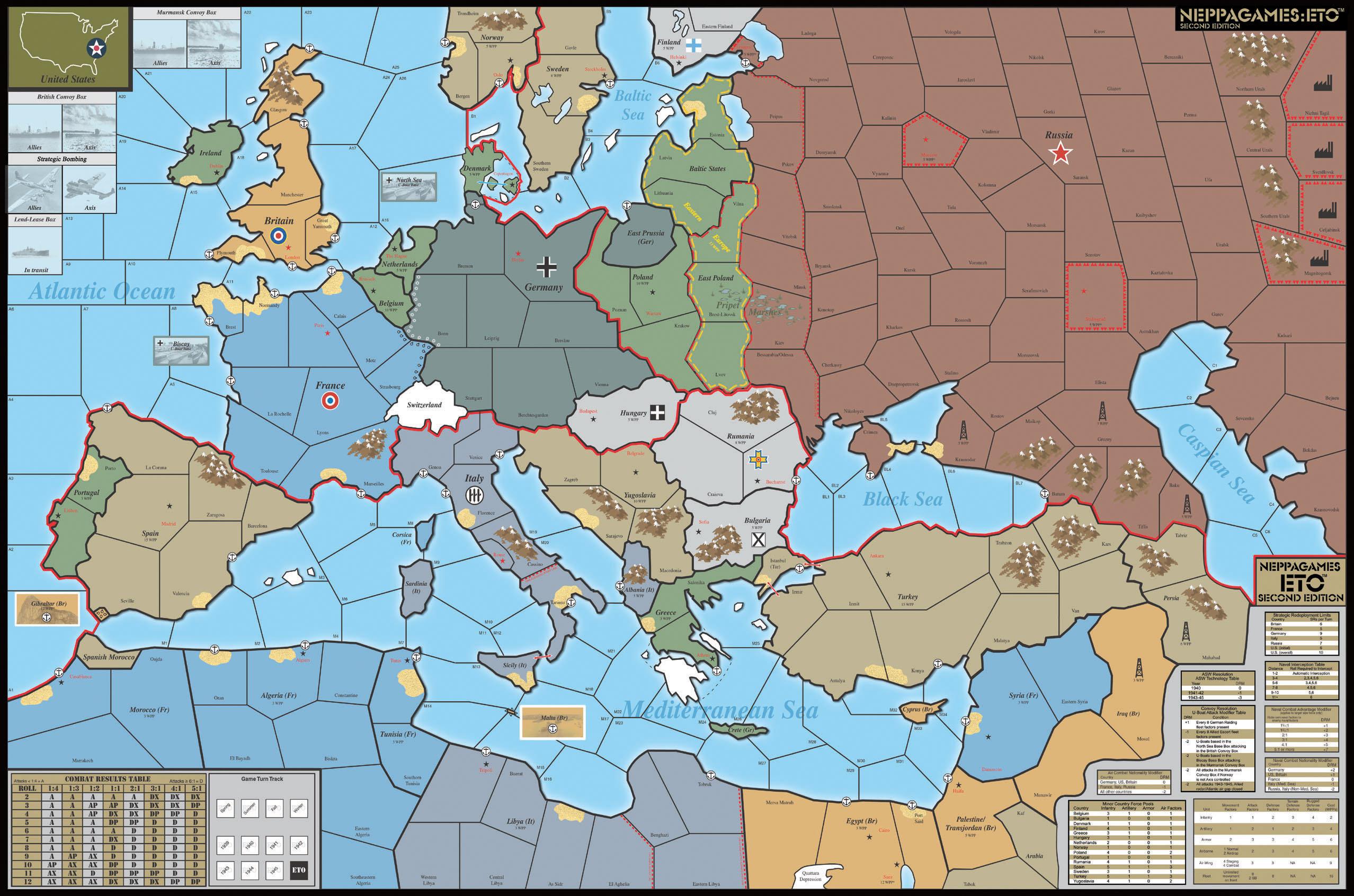 E.T.O: European Theatre of War WWII